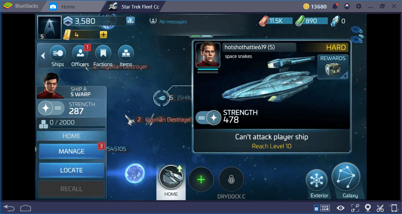 Star Trek Fleet Command على جهاز الكمبيوتر: النصائح والحيل الأكثر فائدة