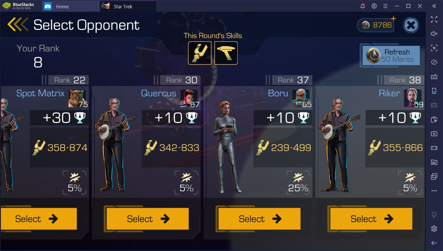 Star Trek Timelines on PC: How to Place Top 10 During Gauntlets