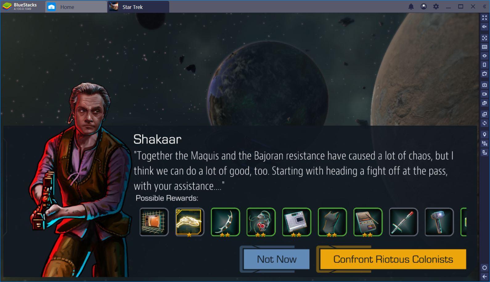 Star trek timelines tips