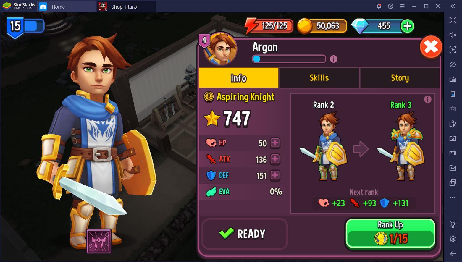 لعبة Shop Titans: دليل كامل للشخصيات
