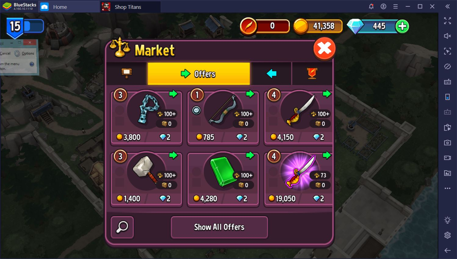 Shop Titans on PC: How to Make More Money Quickly