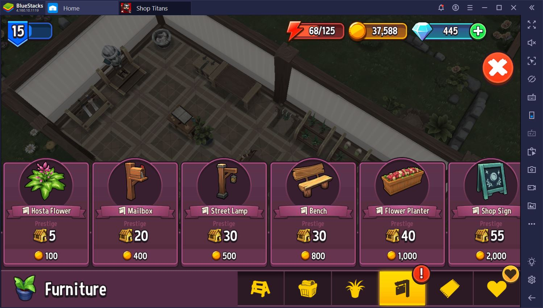 لعبة Shop Titans: نصائح وحيل للمبتدئين