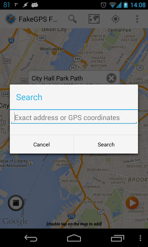 เล่น Fake GPS Location Spoofer Free on pc 18