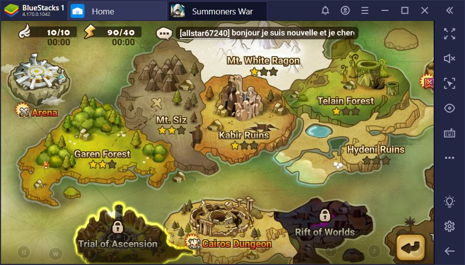 Summoners War : Guide sur le Tribunal de l'ascension