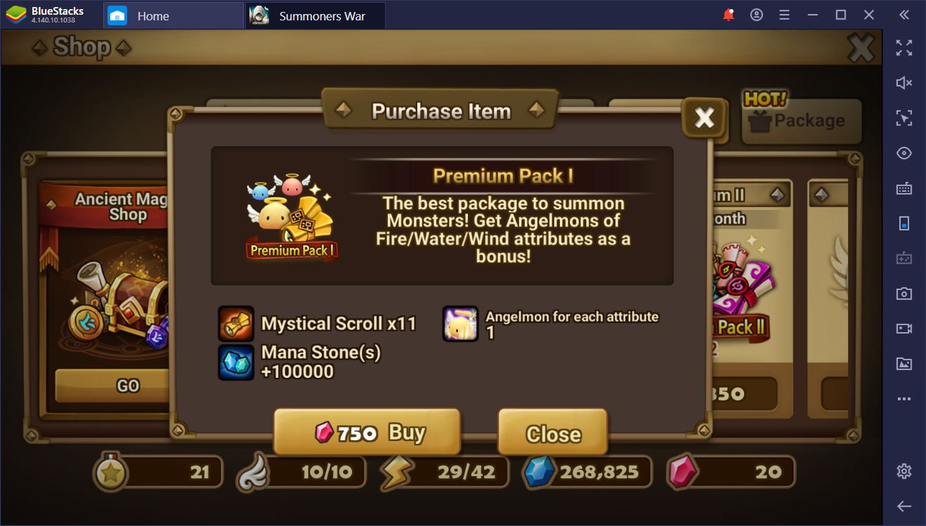 Summoners War on PC– Effective Resource Management