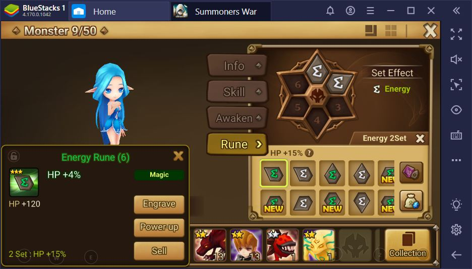 Summoners War on PC – Rune Management for Endgame Content