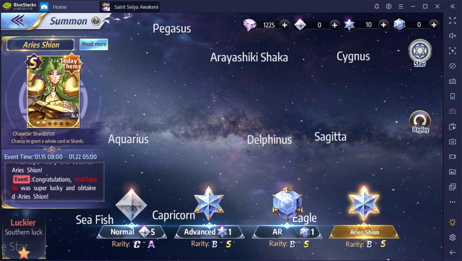 Saint Seiya Awakening - Cómo Desbloquear y Sacar el Potencial de Ikki de Armadura Divina