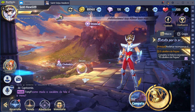 Saint Seiya Awakening: El Gacha de Caballeros del Zodíaco