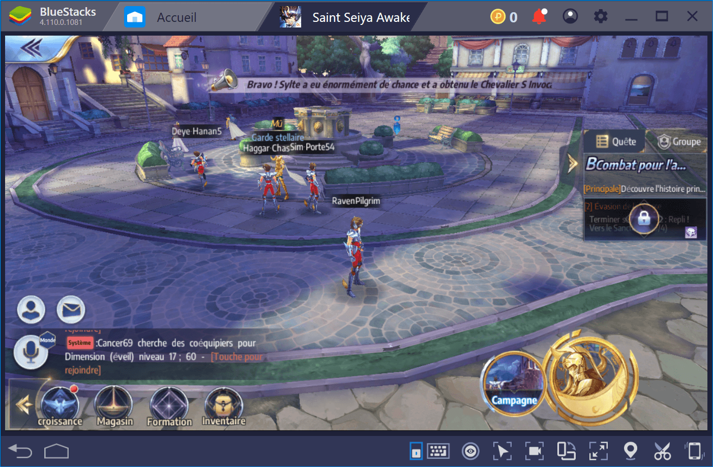 Saint Seiya Awakening : Comment y jouer sur BlueStacks
