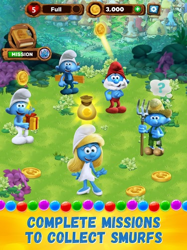 Play Smurfs Bubble Story on PC 8