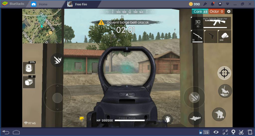 Free Fire:Battlegrounds Silah Eklentileri ve Keskin Nişancılık Rehberi