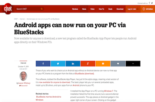 Android apps can now run on your PC via BlueStacks 17