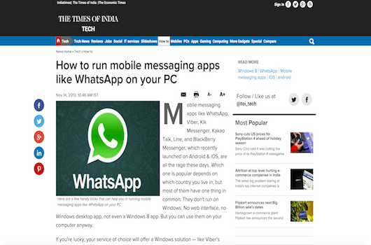 How to run mobile messaging apps like WhatsApp on your PC 11