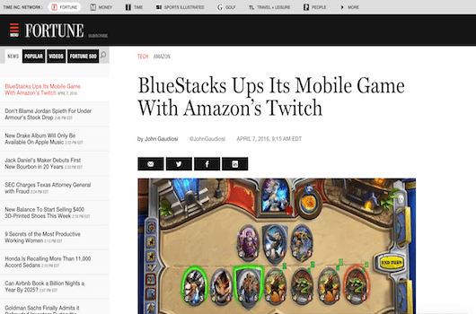BlueStacks Ups Its Mobile Game With Amazon's Twitch 2