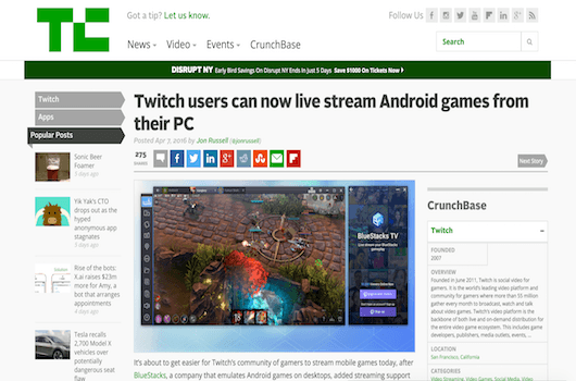 Twitch users can now live stream Android games from their PC 1