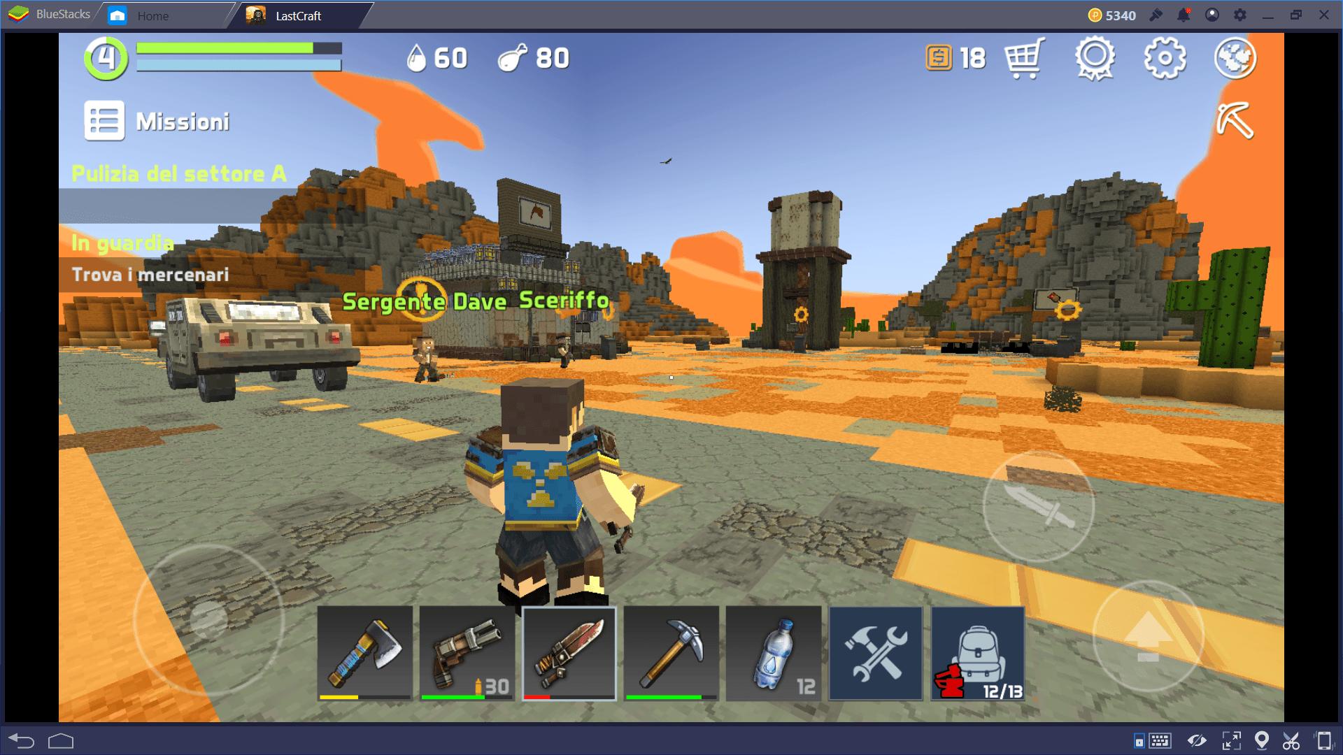 LastCraft Survival: guida al crafting