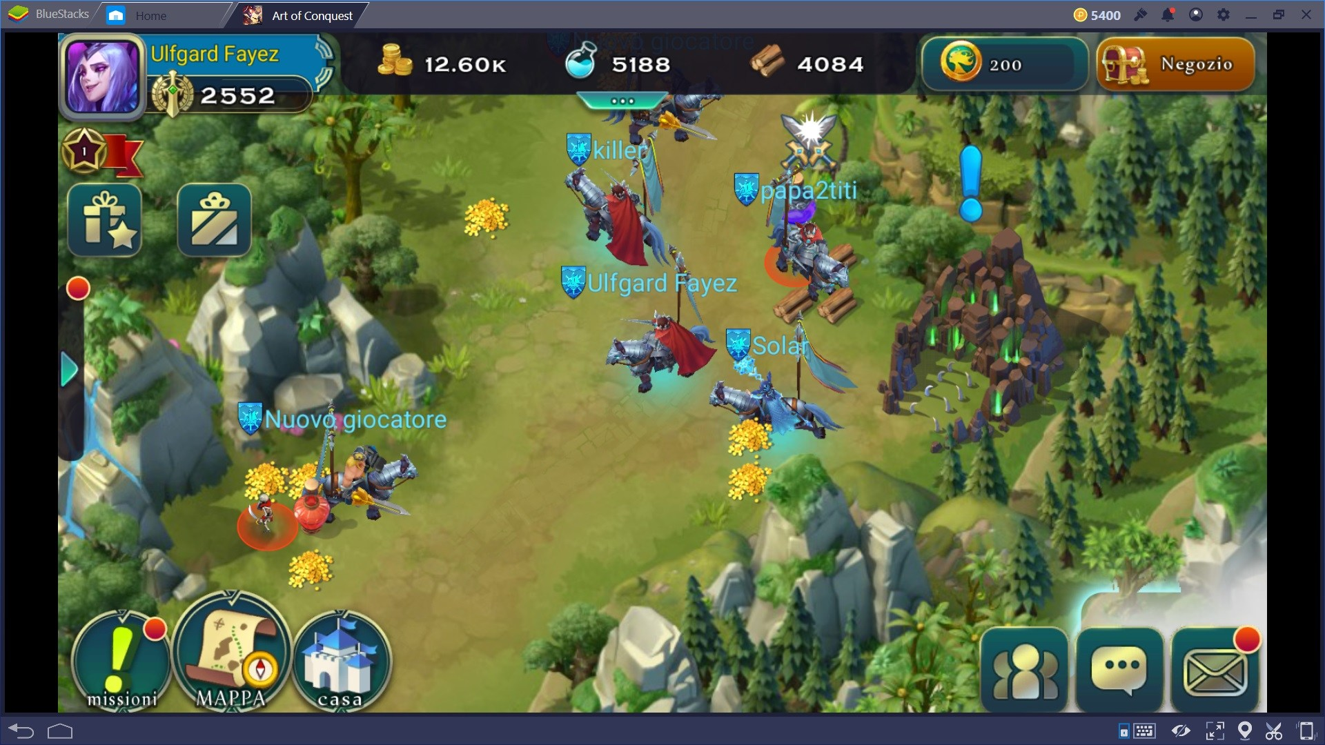 Art of Conquest: guida per principianti