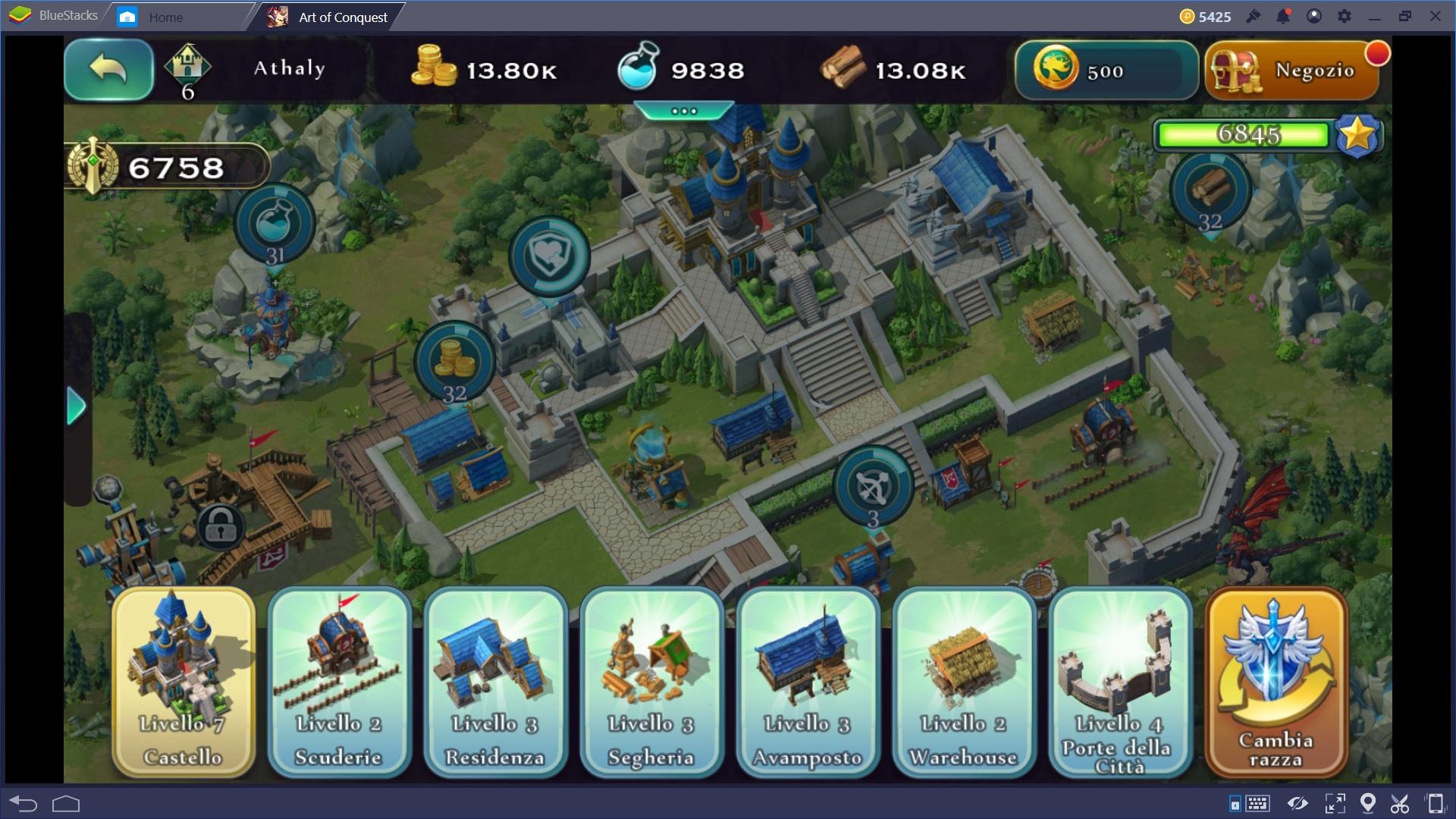 Art of Conquest: guida agli edifici