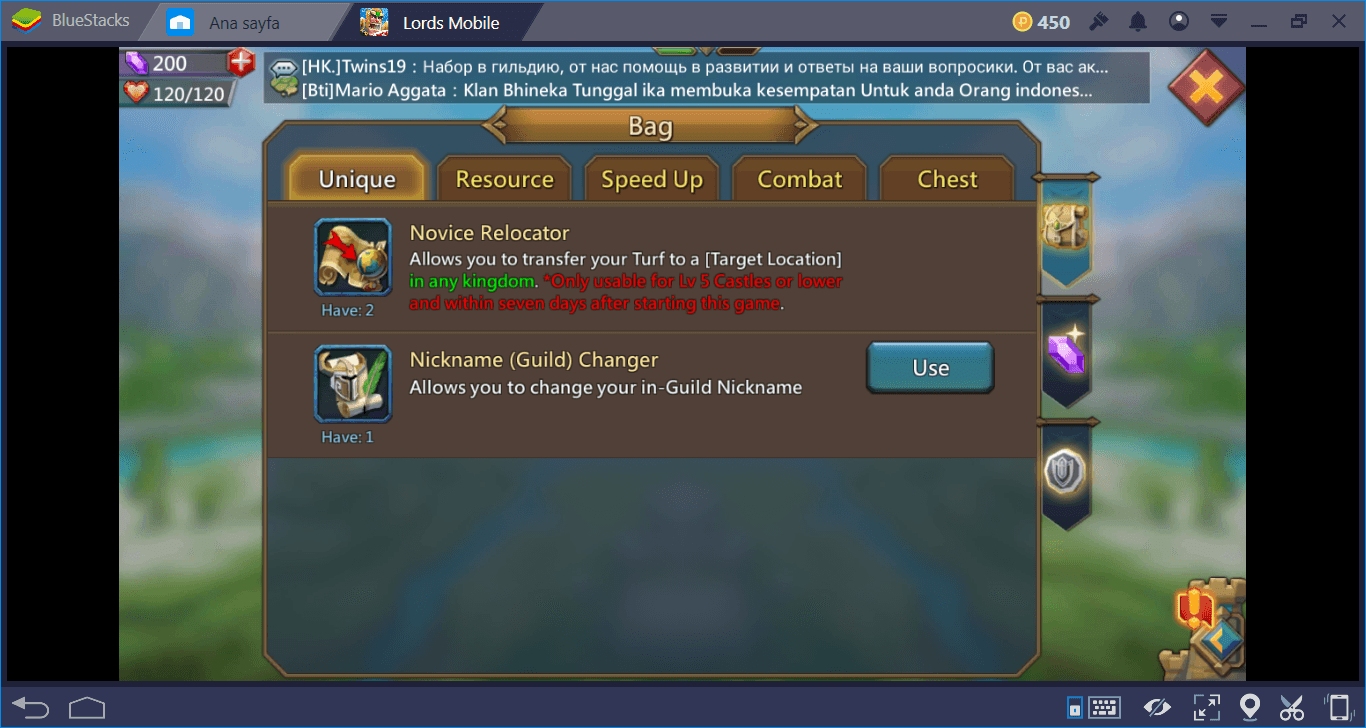 Lords Mobile: How to move your Kingdom to another Server? | BlueStacks