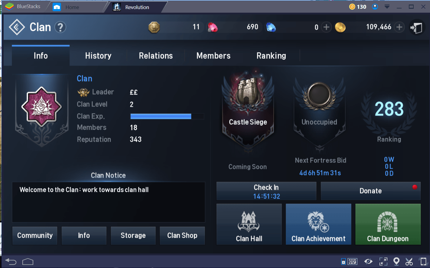 Lineage 2 Clan Tr