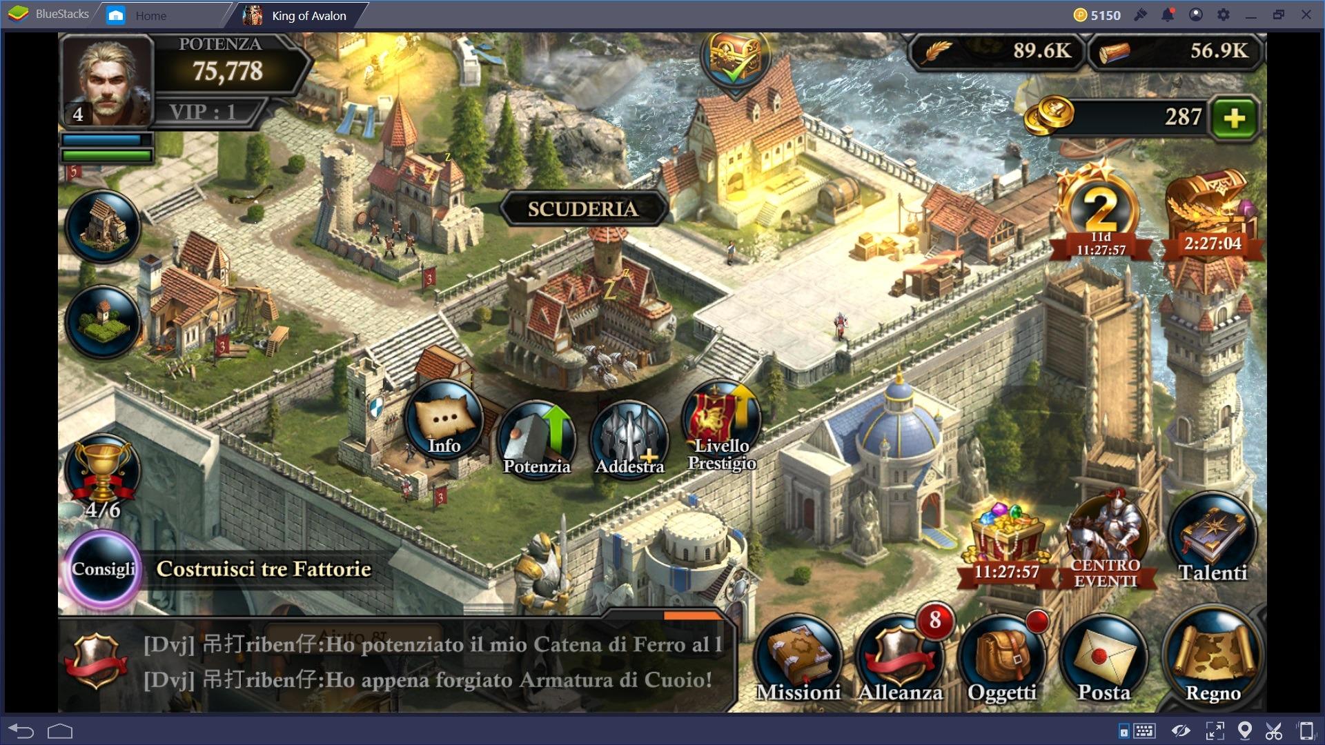 King of Avalon: guida agli edifici