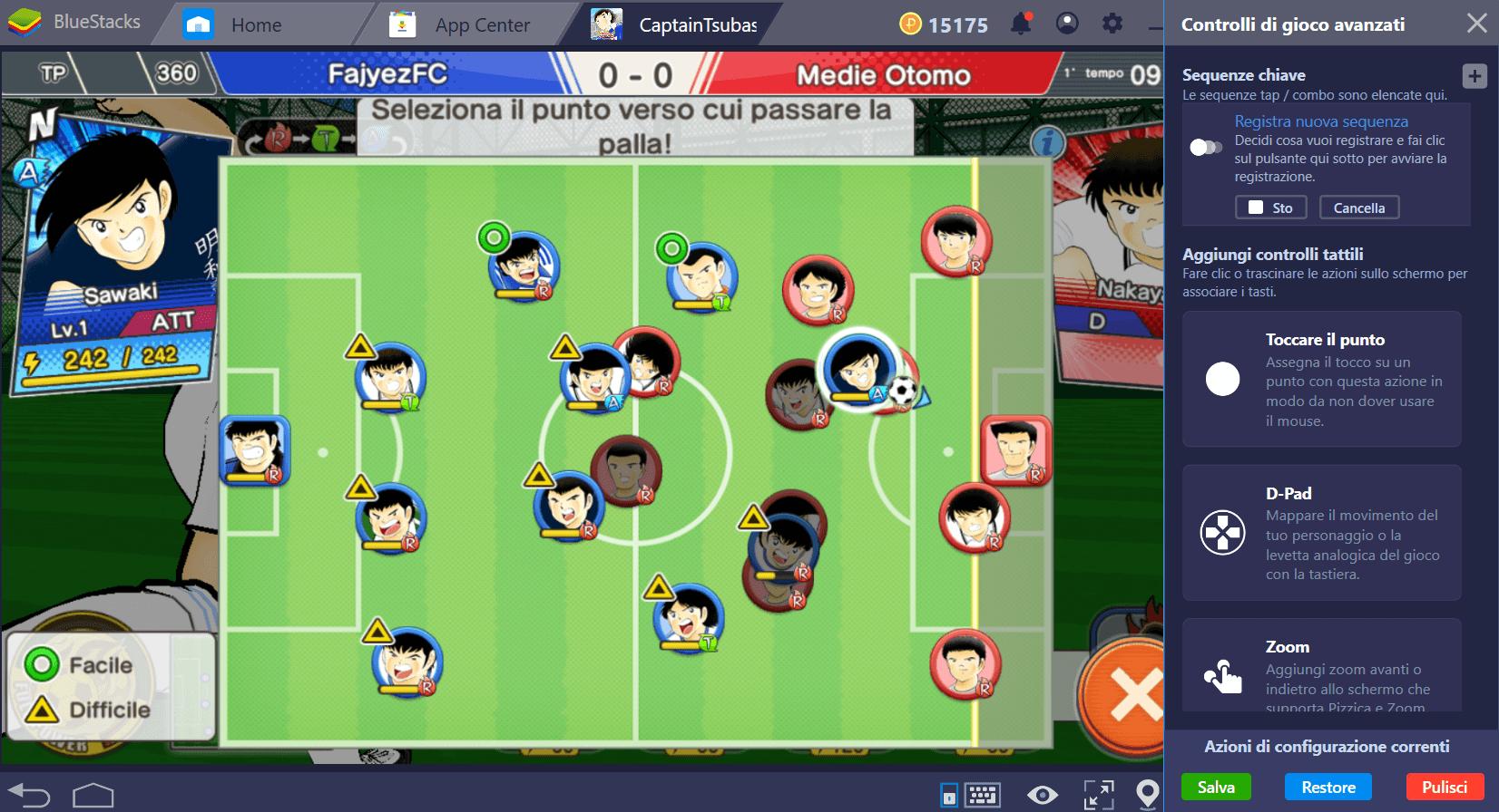 Capitan Tsubasa: porta le Sequenze Chiave sul campo da calcio