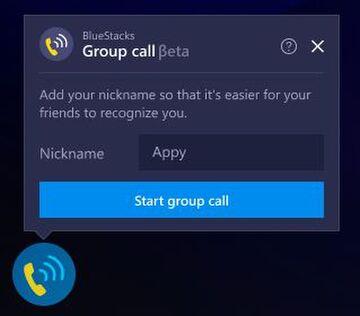 Among Us BlueStacks Group Call Feature