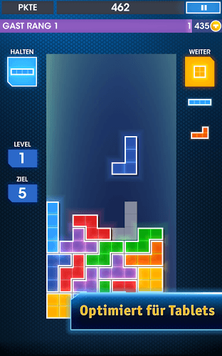 Spielen Tetris on PC 8