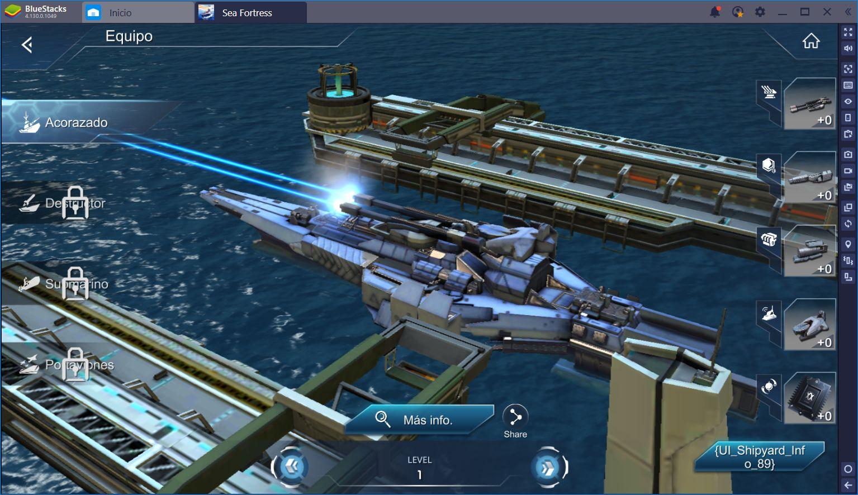 Sea Fortress: Establece tu Dominio en Altamar