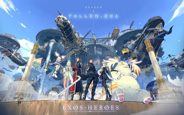 Season 4 of Exos Heroes, Fallen Sky, Released