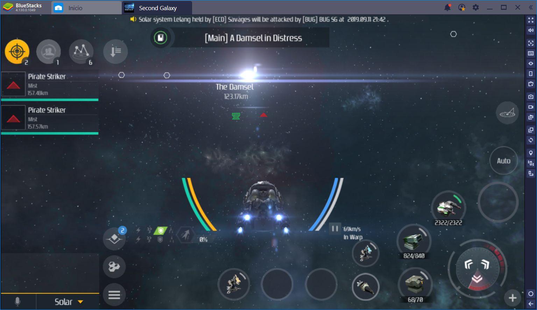 Second Galaxy: Saca tu Explorador Interno con BlueStacks