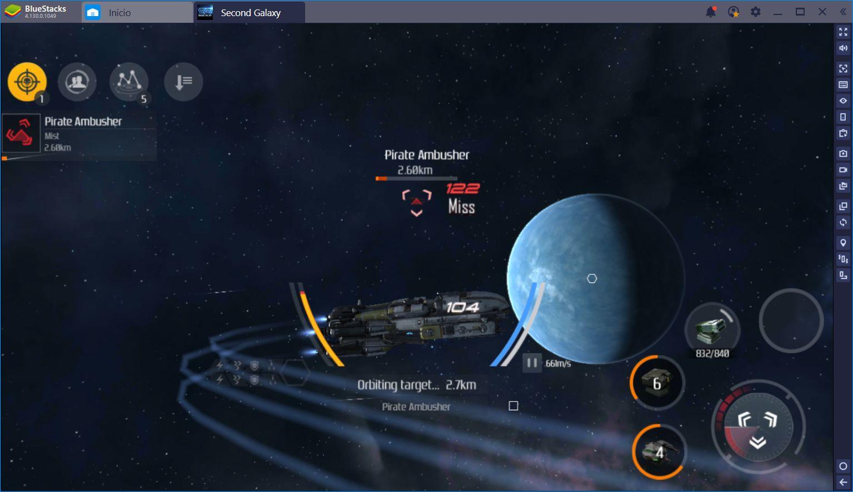 Second Galaxy: Juego Gratuito de Exploración Espacial