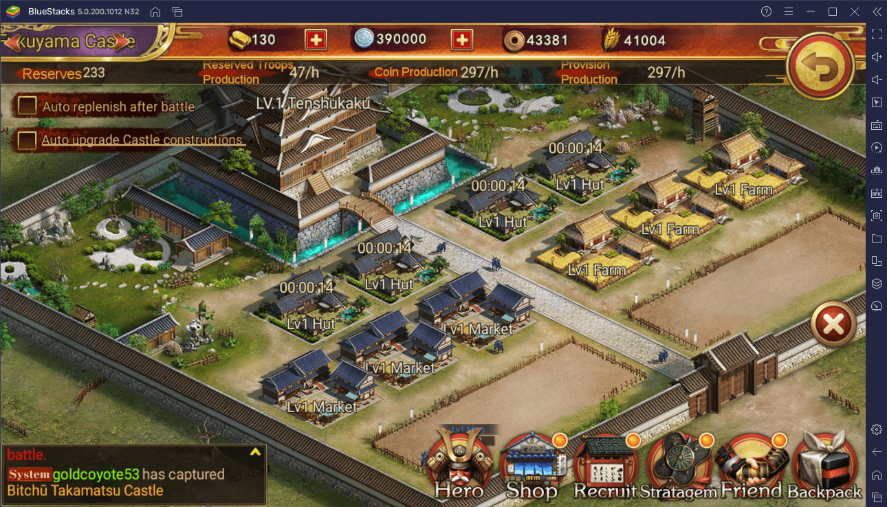 Be a Lord – How to Install Sengoku Fubu on Your PC or Mac with BlueStacks