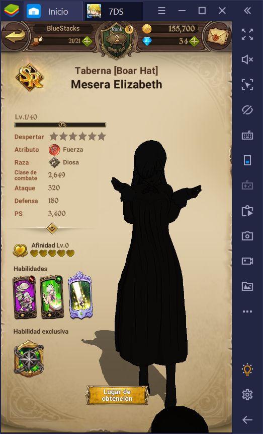 Tier List para The Seven Deadly Sins: Grand Cross - Los Mejores Personajes de la Versión Global
