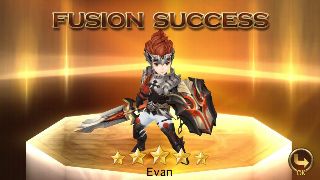 Seven Knights - Fusion Success