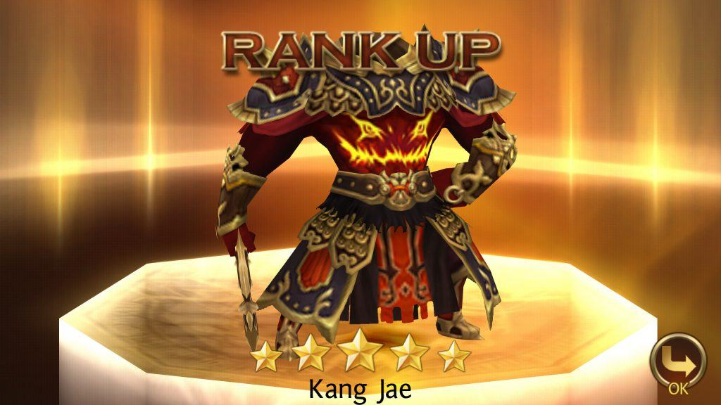 Seven Knights - Successful Rank Up