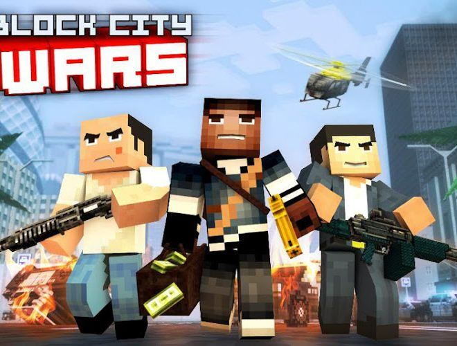 Spustit Block City Wars on pc 2