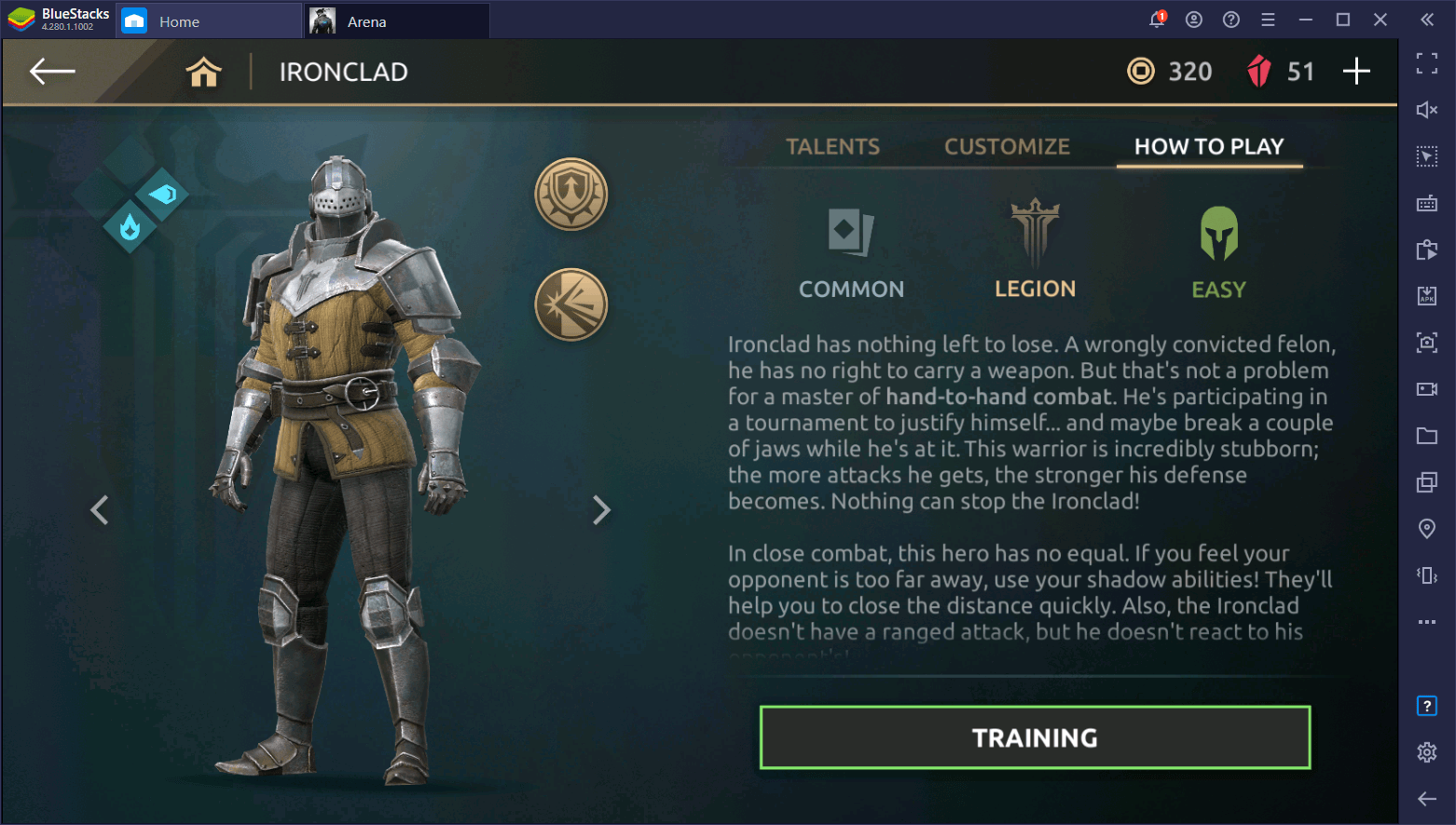 Shadow Fight Arena – Beginner's Guide to Ironclad