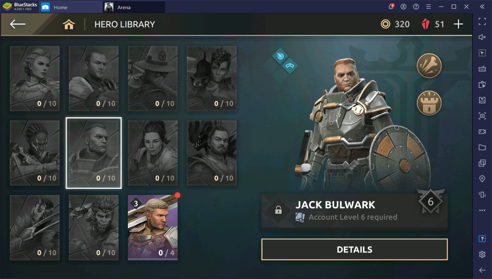 Shadow Fight Arena – Beginner's Guide to Jack Bulwark