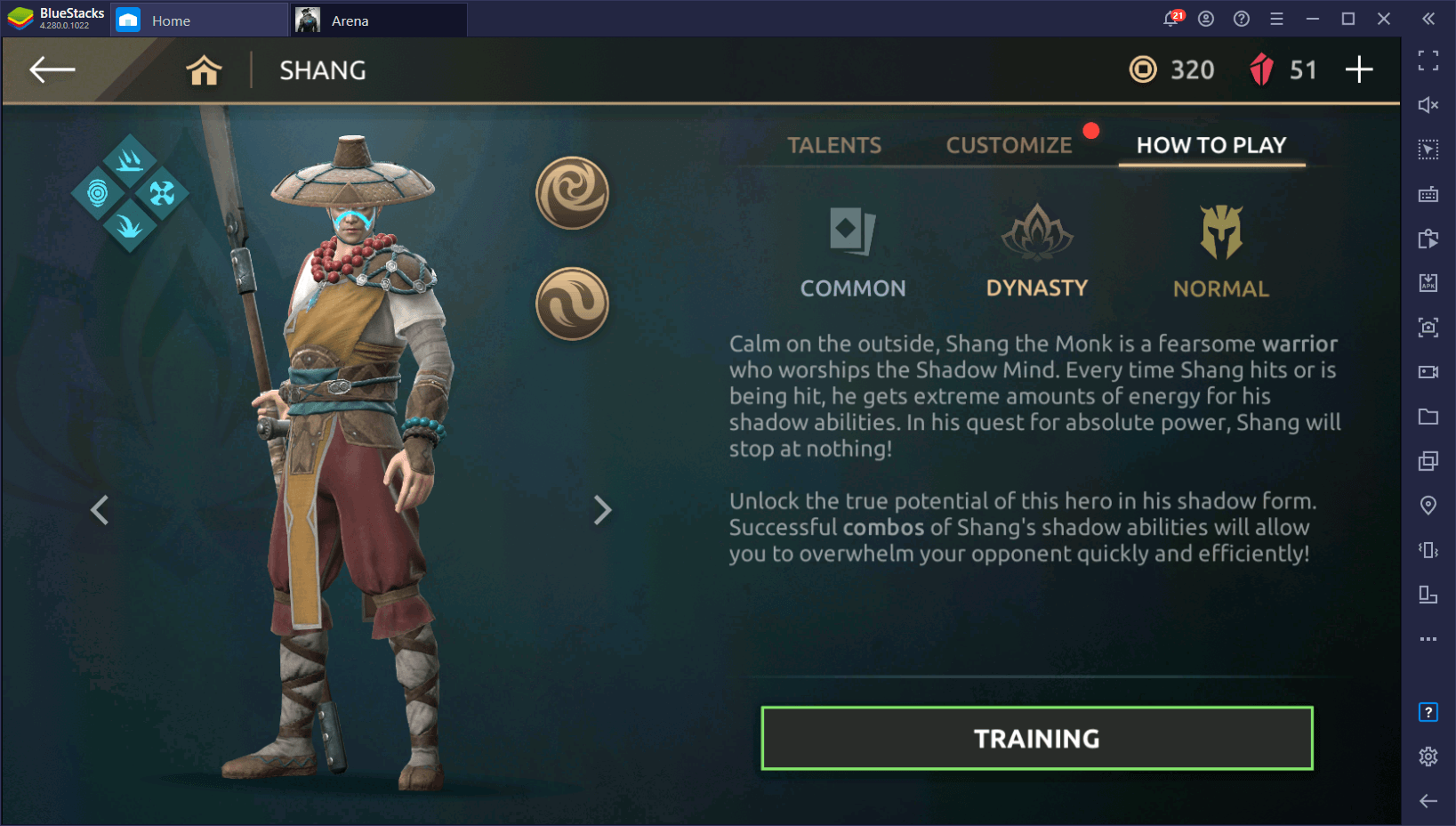 Shadow Fight Arena – Beginner's Guide to Shang