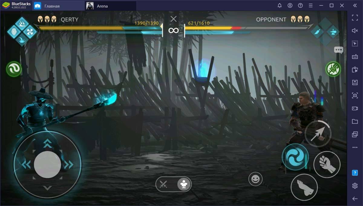 Гайд по стартовым героям Shadow Fight Arena