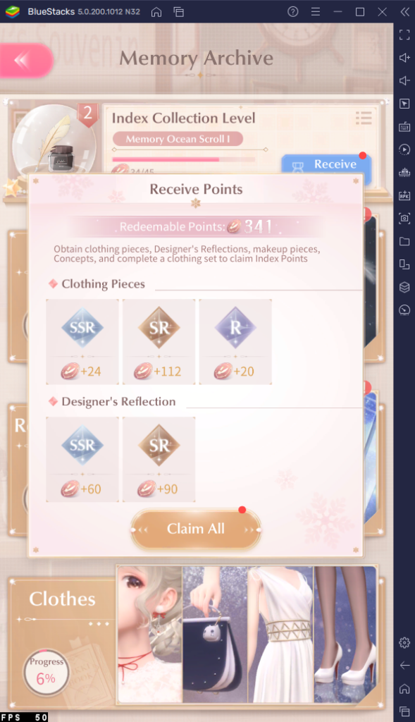 Where to Get More Gold, Pink Gems, and other Resources in Shining Nikki