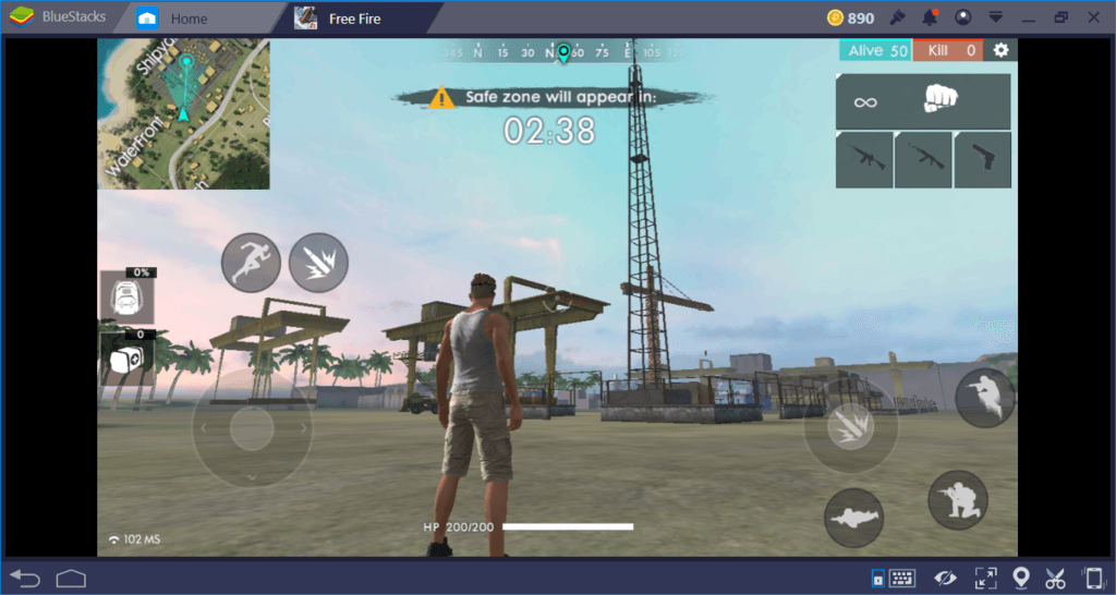 Free Fire: Where to Land First? | BlueStacks
