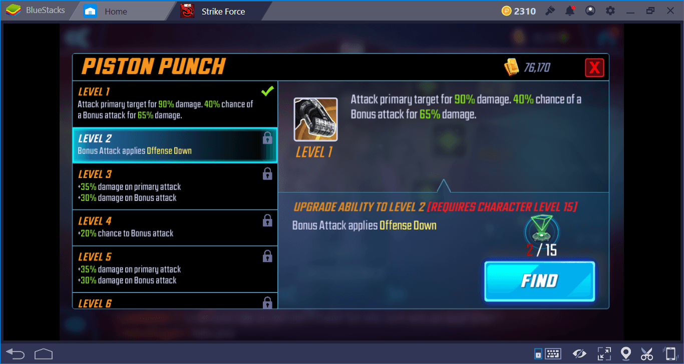 MARVEL Strike Force on PC: Combat System and Status Effects