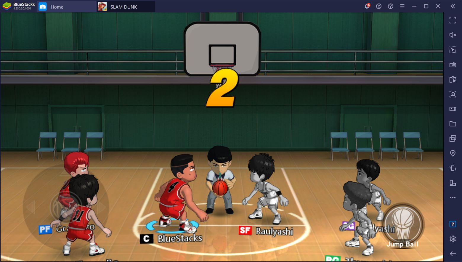 Slam Dunk on PC – Win All Your Matches With BlueStacks