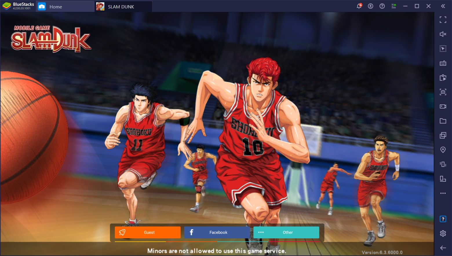 The Slam Dunk Mobile Basketball Game Just Released And You can Play It on PC With BlueStacks