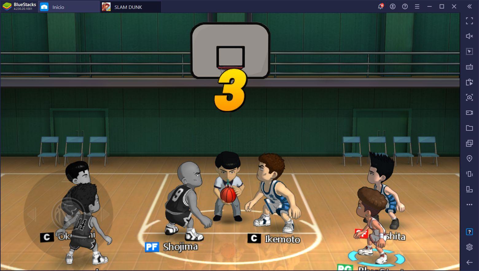 El Juego Para Móviles de Slam Dunk Acaba de Lanzar y lo Puedes Jugar en PC con BlueStacks