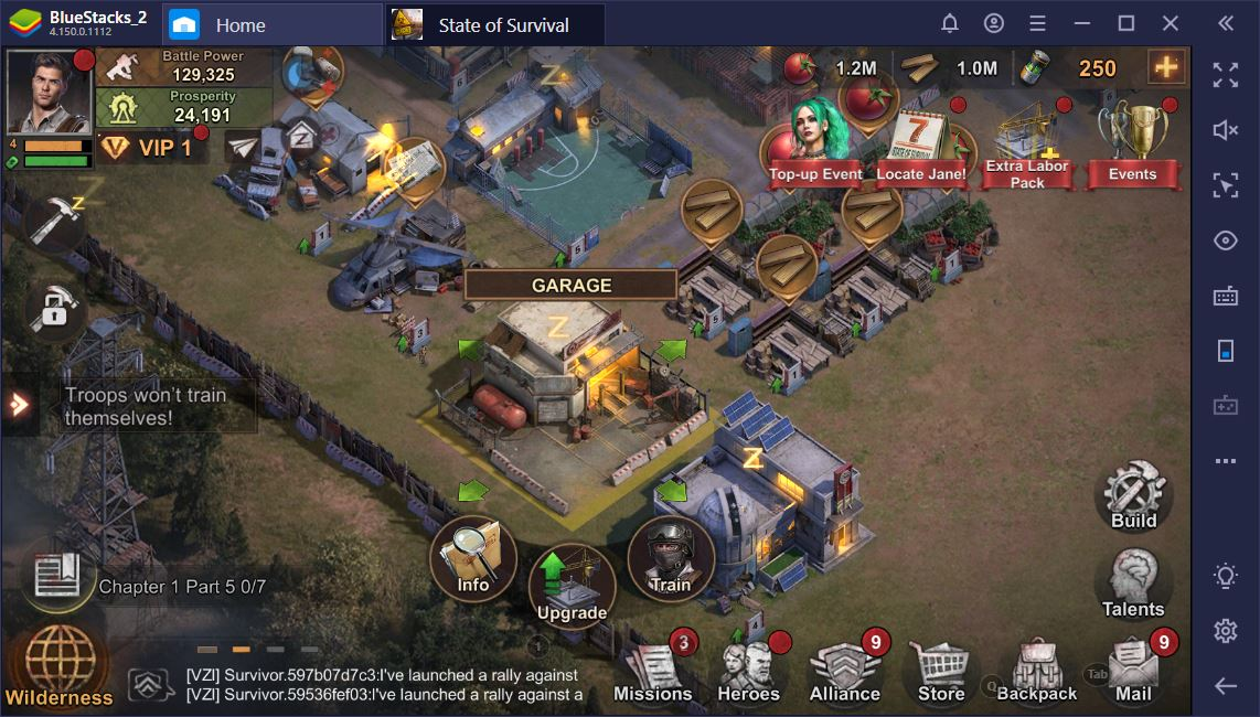 State of Survival on PC: Build a Garrison to Withstand the Zombie Apocalypse