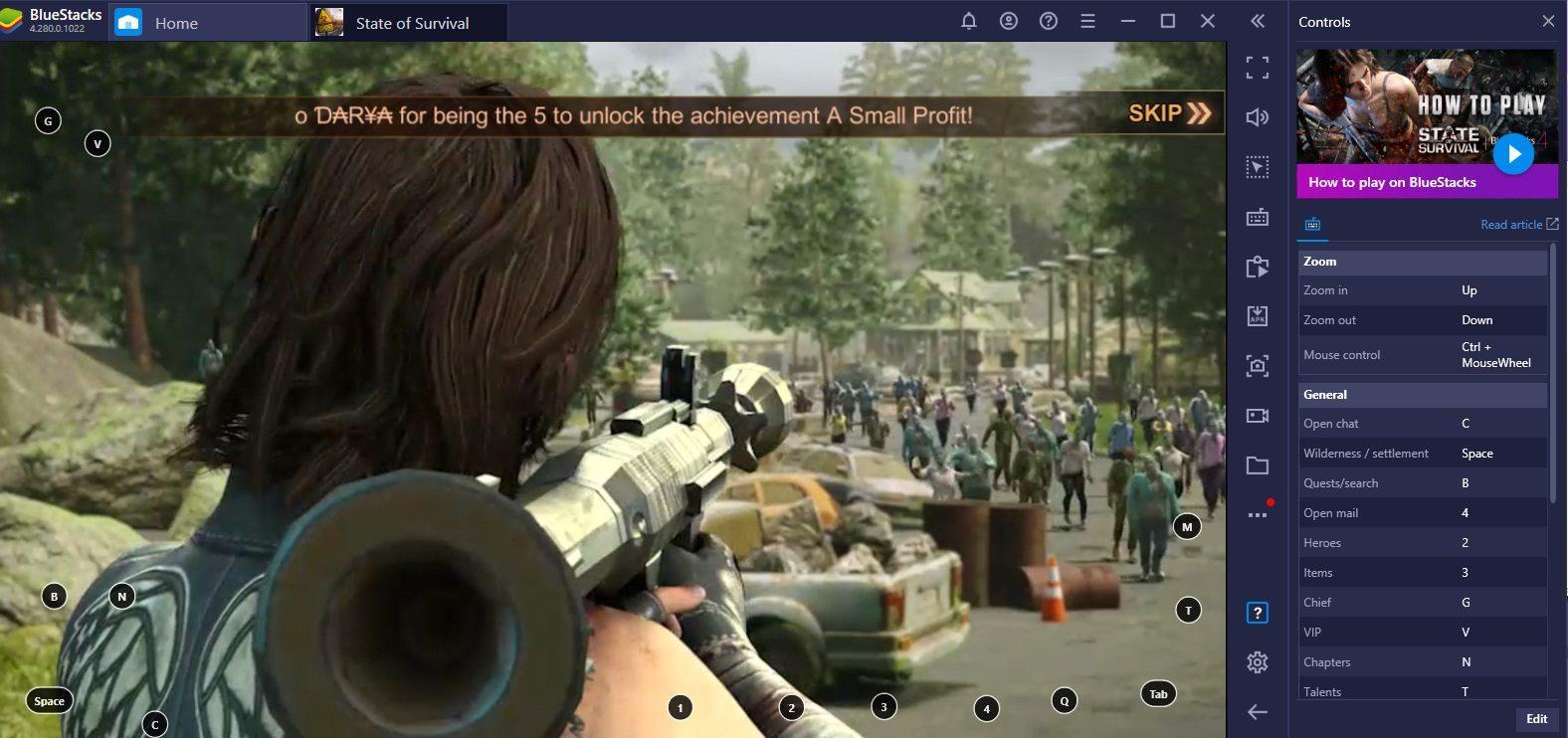 State of Survival x The Walking Dead Kollaboration: Wie du Daryl Dixon findest