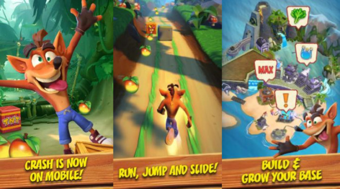 King to Release 'Crash Bandicoot: on the Run' to iOS and Android Soon